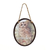 Wonder Owl Oval Ornament - Marjolein Bastin - Nature's Journey