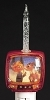 2014 Rudolph - TV Bubble Night Light - by RomanHallmark Christmas Ornament