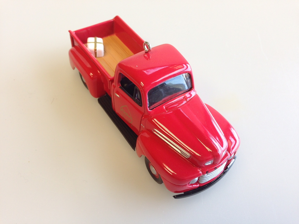 2008 Kirlin 39 S 1948 Ford F 1 Hallmark Ornament At Hooked On