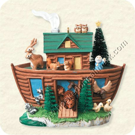 Hallmark Noah's Ark Christmas Ornaments at Hooked on Hallmark ...