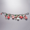 Presents and Snow Bracelet Hallmark Christmas Ornament