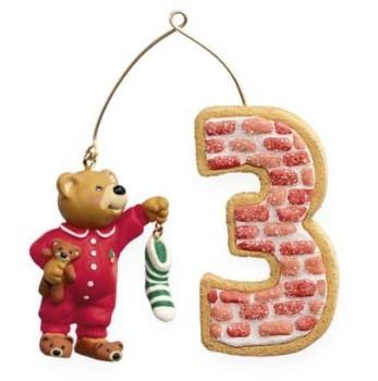 2009 My Third Christmas Child Hallmark Keepsake Ornament ...
