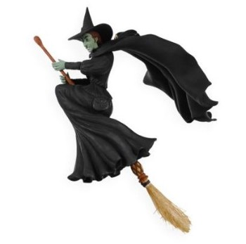 Wicked Witch Of The West Flying On Her Broom 2009 Wicked Witch of t...