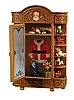 2010 Santa's Armoire - Brown