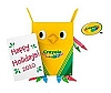 2010 Crayola, Owl-iday Greetings