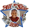 2010 All Star Kid - Musical !Hallmark Christmas Ornament