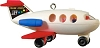 2010 Fisher-Price Play Family Fun Jet Hallmark Christmas Ornament