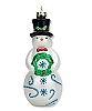 2010 Tip-Top Snowman Hallmark Christmas Ornament