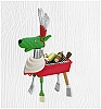 2010 Good Grilling To All! Hallmark Christmas Ornament