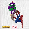 2010 Spider-Man and Green Goblin Hallmark Christmas Ornament