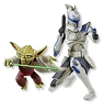 2010 Master Yoda and Captain Rex Hallmark Christmas Ornament