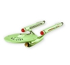2011 NYCC Star Trek USS Defiant - RARE - ONLY 700 produced!Hallmark Christmas Ornament