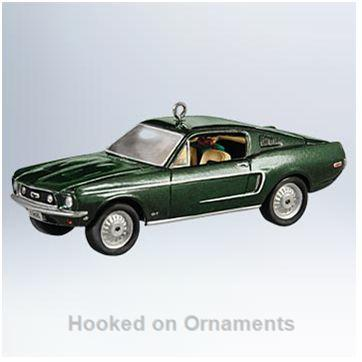 Hallmark Classic Car Ornaments