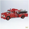 2011 Fire Brigade #9 -1957 Chevy Fire EngineHallmark Christmas Ornament