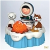 2011 Frosty Friends S'more Treats - Solar PoweredHallmark Christmas Ornament