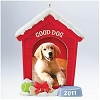 2011 Good Dog! Hallmark Christmas Ornament