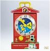 2011 Fisher-Price Music Box Teaching ClockHallmark Christmas Ornament