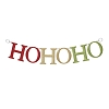 Red & Green, Ho Ho Ho Door BannerHallmark Christmas Ornament