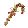 Red & Green, Jingle Bell Candy CaneHallmark Christmas Ornament