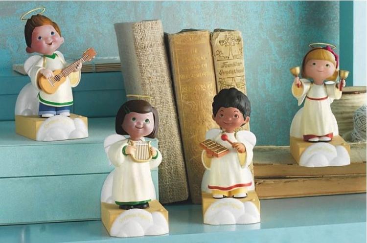 2012 children u0026 39 s angel wireless choir hallmark keepsake