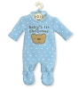 2012 Baby Boy's First Christmas, Blue PajamasHallmark Christmas Ornament
