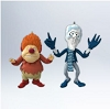 2012 Heat Miser and Snow Miser - Very Hard to Find!Hallmark Christmas Ornament