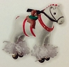 2013 Pony For Christmas REPAINTHallmark Christmas Ornament
