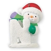 "2013 Let It Snow! ""N Is For Nip In The Air""Hallmark Christmas Ornament"