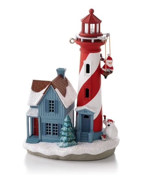 2013 Holiday Lighthouse Hallmark Christmas Ornament - Hooked on ...