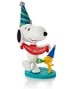 2014 Peanuts Monthly #6 New Year's Celebration Hallmark Christmas Ornament