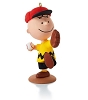 2014 Peanuts Monthly #11 Charlie's Favorite PastimeHallmark Christmas Ornament