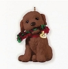 2013 Puppy Love REPAINT - Only 64 ProducedHallmark Christmas Ornament