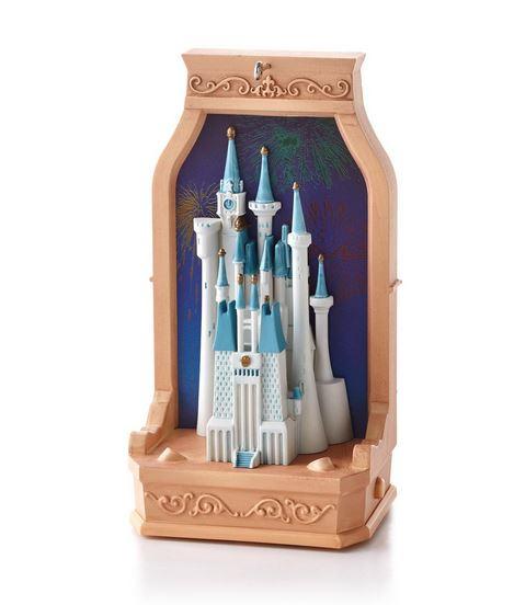 2013 Cinderella Castle Disney Hallmark Christmas Ornament ...