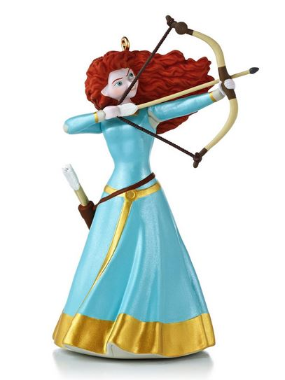 2013 merida the archer disney brave hallmark christmas