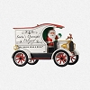 2013 Here Comes Santa Santa's Overnight DeliveryHallmark Christmas Ornament