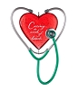 2013 Caring Heart Hallmark Christmas Ornament
