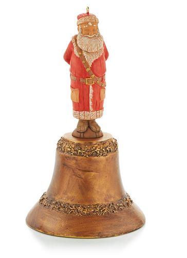 Santa s magic bell hallmark christmas ornament