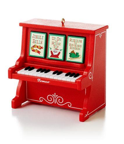 2013 Christmas Caroling Piano Hallmark Christmas Ornament ...