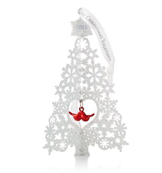 2013 Our Christmas Together Hallmark Christmas Ornament  Hallmark
