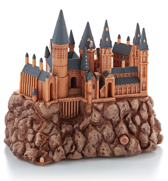 2013 hogwarts castle harry potter hallmark christmas