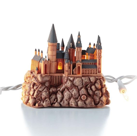 2013 hogwarts castle harry potter hallmark christmas ornament