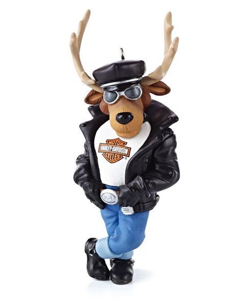 2013 harley davidson motorcyle reindeer rider hallmark