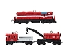 2013 Lionel Minneapolis & St Louis Work Train MINIATURE Set Hallmark Christmas Ornament