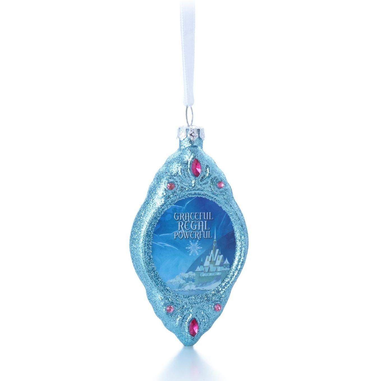 2014 ANNA - Disney's Frozen Hallmark Blown Glass Ornament ...