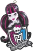 2014 Monster High - DRACULAURA - Carlton Ornament Hallmark Christmas Ornament