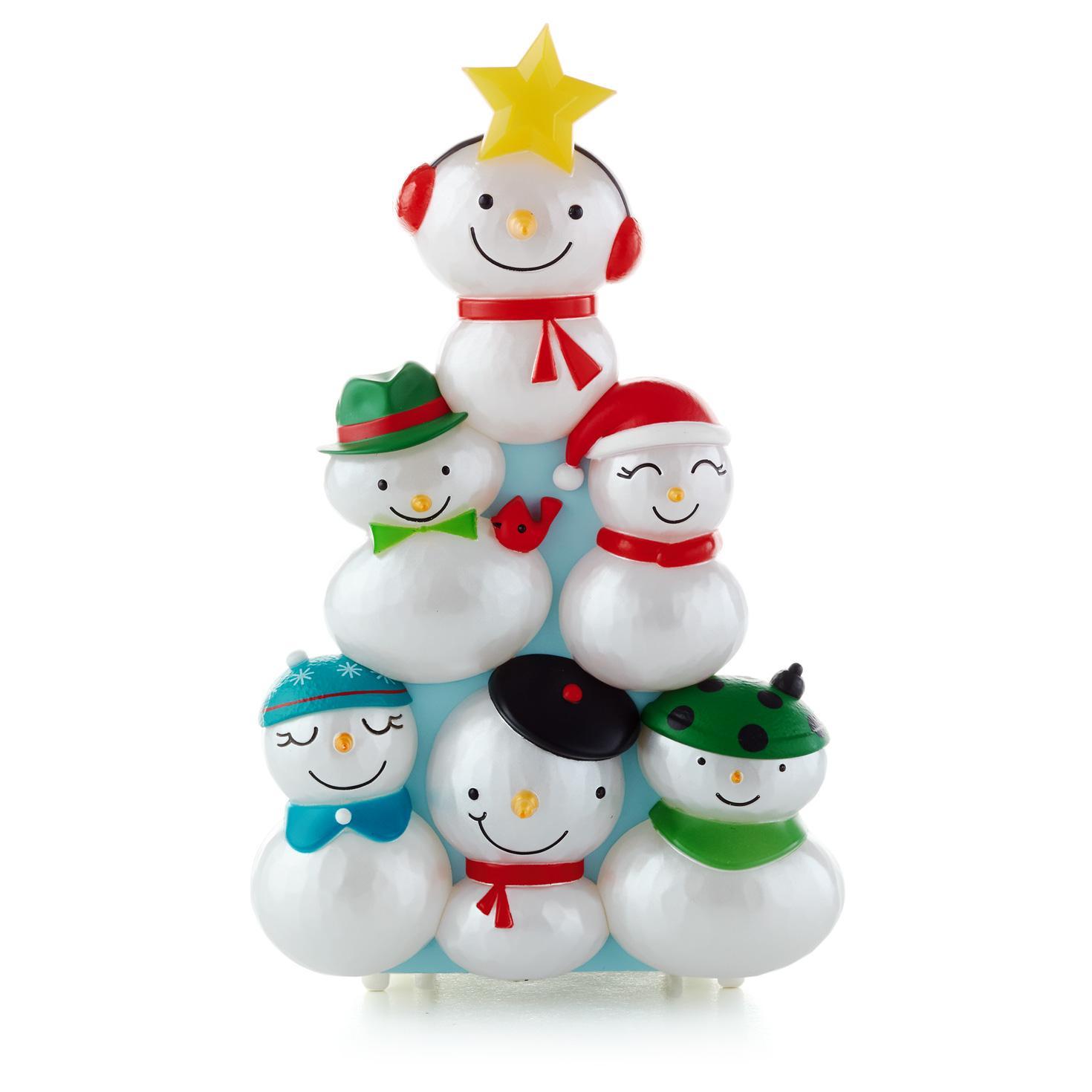 2014 Hallmark Christmas Concert Snowmen Wireless Choir - Hooked on ...