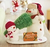 2014 Perfect Tree Snowman - Plush Tabletopper