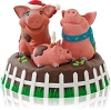 2014 Yule Hogs - View video!Hallmark Christmas Ornament