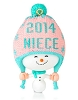 2014 One Fun Niece Hallmark Christmas Ornament