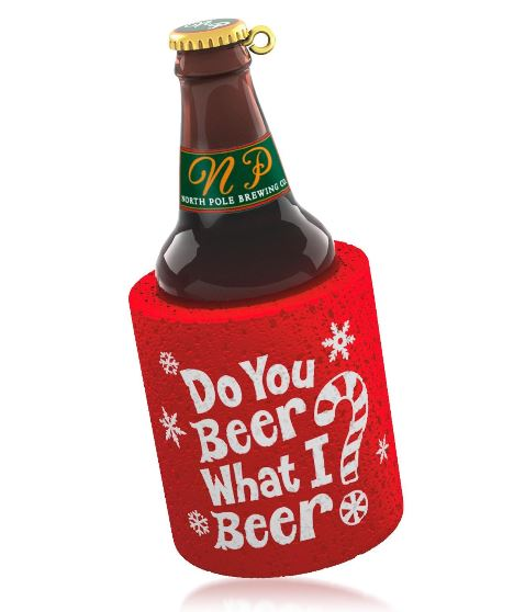 2014 do you beer what i beer hallmark christmas ornament